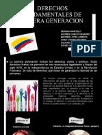 Derechos Fundamentales de Primera Generacion