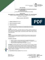 CONV-UDF-033 Grupo de Investigacion Del Desarrollo Regional IDRA