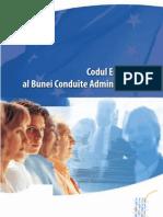 Codul european al bunei conduite administrative