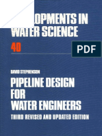 Pipeline Design for Water Engineers