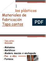 M 2-Tapa cantos PVC ABS