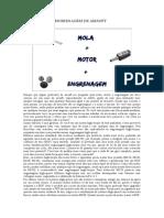 Mola Motor e Engrenagem de Airsoft