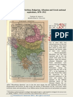 Vladislav B Sotirovic Macedonia and Balkan National Aspirations From 1878 to 1912