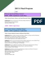 EVER11-Final-Program
