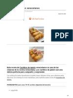 divinacocina.es-Cachitos de jamón venezolanos
