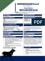 FICHA TECNICA MOTA DE RES Vol 2