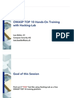 OWASP_Hacking_Lab_V1.0