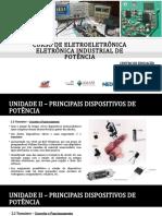 2.1 PRINCIPAIS DISPOSITIVOS DE POTÊNCIA - TRANSISTORES