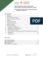 CONVOCATORIA PROYECTOS DE INVESTIGACION PEDAGÓGICA 2021