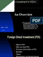 FDI-FII - 1