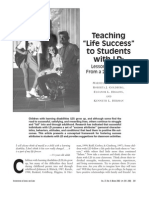 """Teaching """"Life Success"""" to Students with LD"""