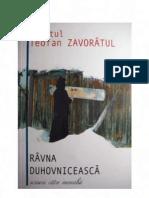 Sf.Teofan Zavoratul - Ravna duhovniceasca. Scrisori catre monahii