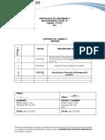 PROTOCOLO DE SEGURIDAD Y BIOSEGURIDAD. INGENIERIA ELITE 2021.