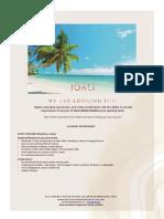JOALI Being_Job Advertisement - 030521