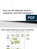 IAS Gateway and real world scenarios