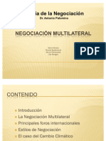 Negociación Multilateral