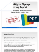 WireSpring-2010-Digital-Signage-Pricing-Report