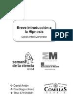 Semana de la ciencia David Antón