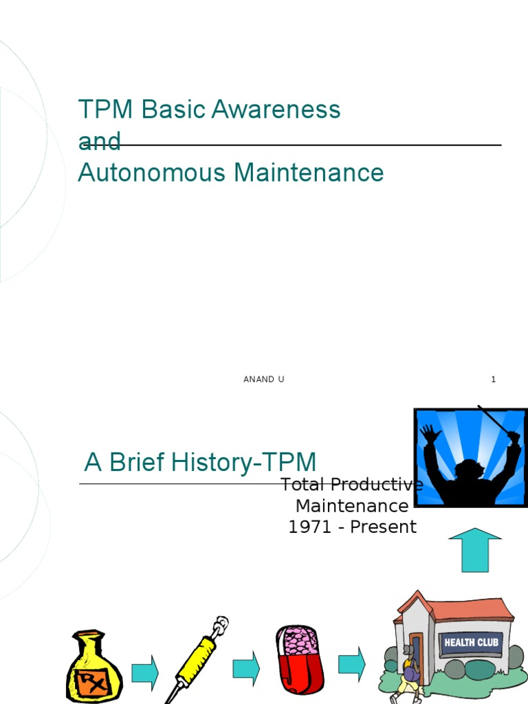 Step 1: TPM BASICS AND AM STEP 1 TO 5
