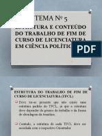 Tema Nº 5aestrutura Dos Tfcl 01.04.2019b