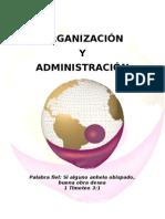 organizacion y administracion