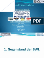 Nestle-Prasentation BWL