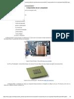 2 2 Componentes de Um Computador