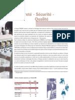 Sûreté - Sécurité - Qualité