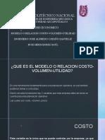 Modelo o Relacion Costo-Volumen-utilidad