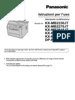 KX-MB2230JT-Italian