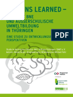 Lessons Learned 25 Jahre BNE Und Aussers