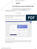 Meilleurs découpeurs PDF pour couper un fichier PDF