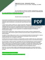 6º e 7º Semestre Cco 2021 - Produção Textual Interdisciplinar - A Farmacêutica Imunovita S/A