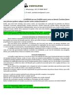 PORTFÓLIO 4º e 5º SEMESTRE EDUCAÇÃO FÍSICA 2021 - A Prática de Handebol Para Pessoas Com e Sem Deficiência (Escolinha de Handebol de Bruno Vinícius) WhatsApp 07399900 0037