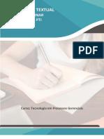 2º E 3º SEMESTRE Processos Gerenciais 2021 - O Caso de Uma Indústria de Produtos de Limpeza.