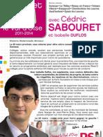 Programme cantonales - Sabouret