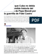 Cuba Secuestro Pepe Biondi