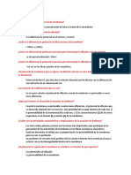 TEMA 5 FISIOLOGIA DE LA MEMBRNA, NERVIO Y MUSCULO