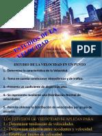 ESTUDIOS DE LA VELOCIDAD