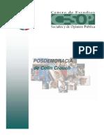 PB6006 Posdemocracia de Colin Crouch