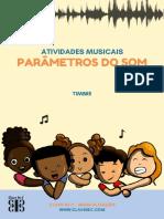 04Parâmetros do Som - ATIVIDADES MUSICAIS para baixar