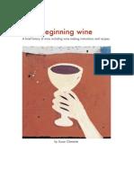 Beginning Wine