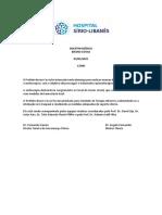 Boletim Médico - Bruno Covas 03.05