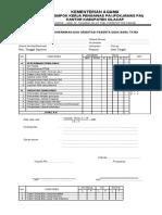 Instrumen monitoring penerimaan dan orientasi peserta didik SD,MI,RA,TK