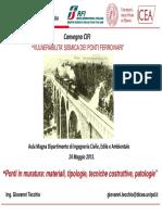 04 Ponti in Muratura_materiali, Tipologie, Tecniche Costruttive, Patologie_Tecchio