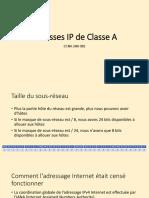 2.1 07-02 Adresses IP de Classe A