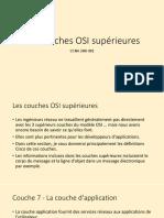 3.5 Les couches OSI supérieures