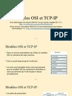 3.4 Modeles OSI and TCP-IP