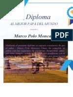 Diploma Don Moncayito