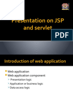 my Presentation on JSP and servlet
